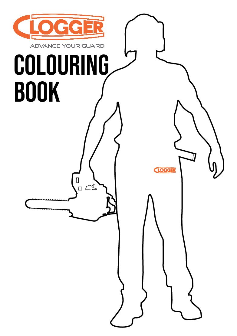 Introducing the Clogger Colouring Book