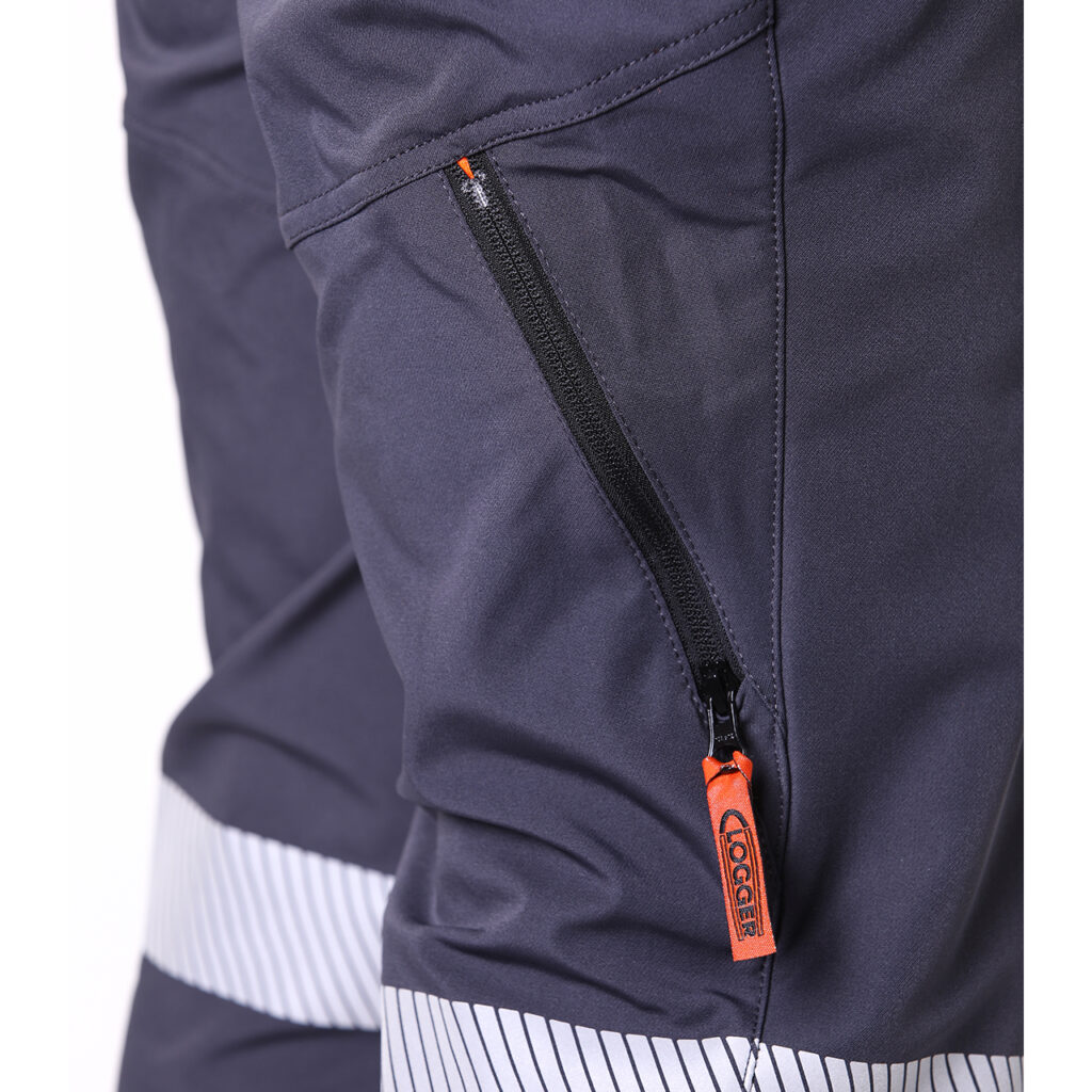 Clogger chainsaw pant zip vent