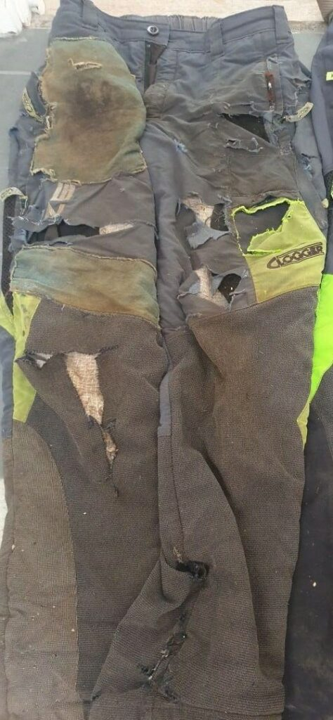 When to retire Clogger chainsaw pants and chaps